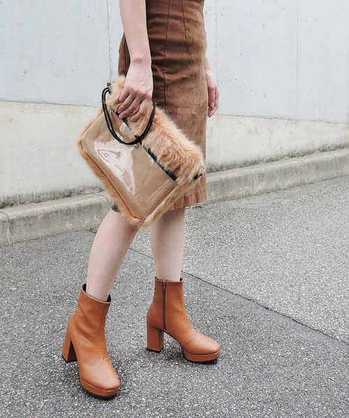 幅広いファッションに愛された厚底シューズのイメージ画像