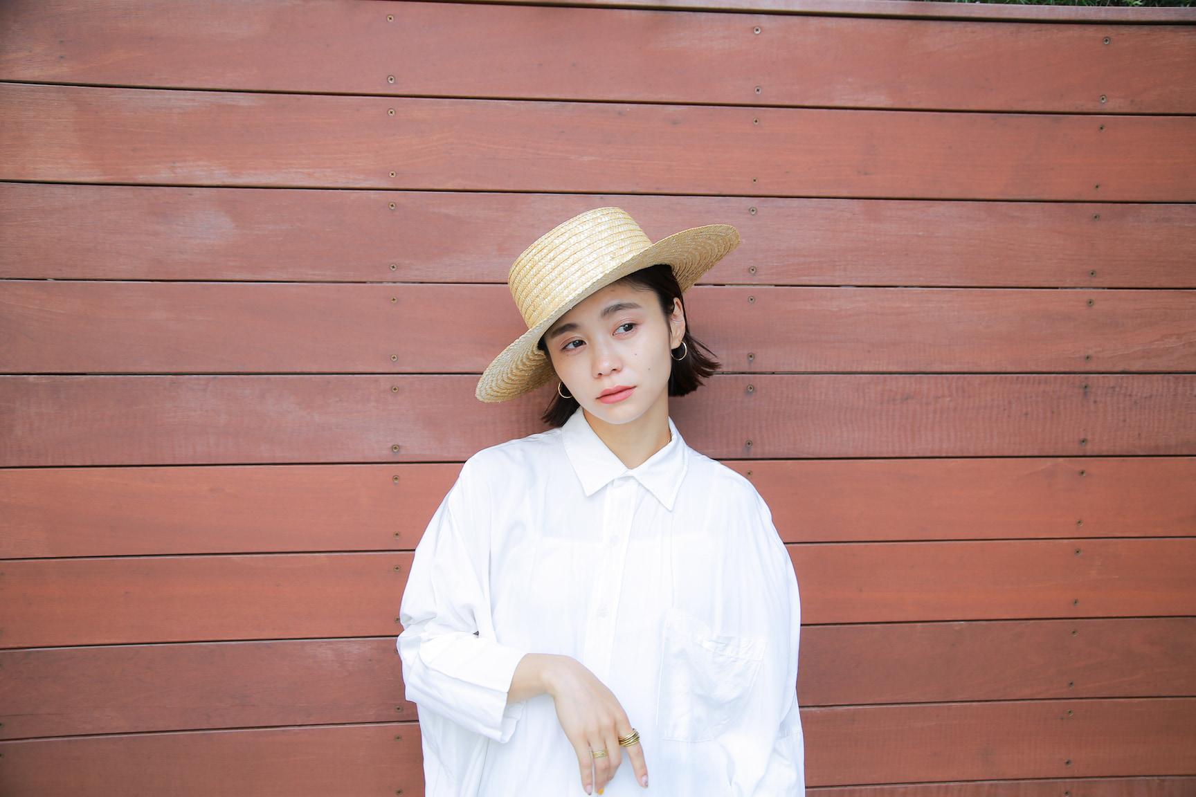 モノトーンで作るリラックス初夏スタイリング/忍舞さんの7days coordinate #Day6