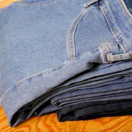 【DIY】簡単!綺麗なジーンズの畳み方