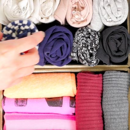 【DIY】かさばる衣類の収納方法