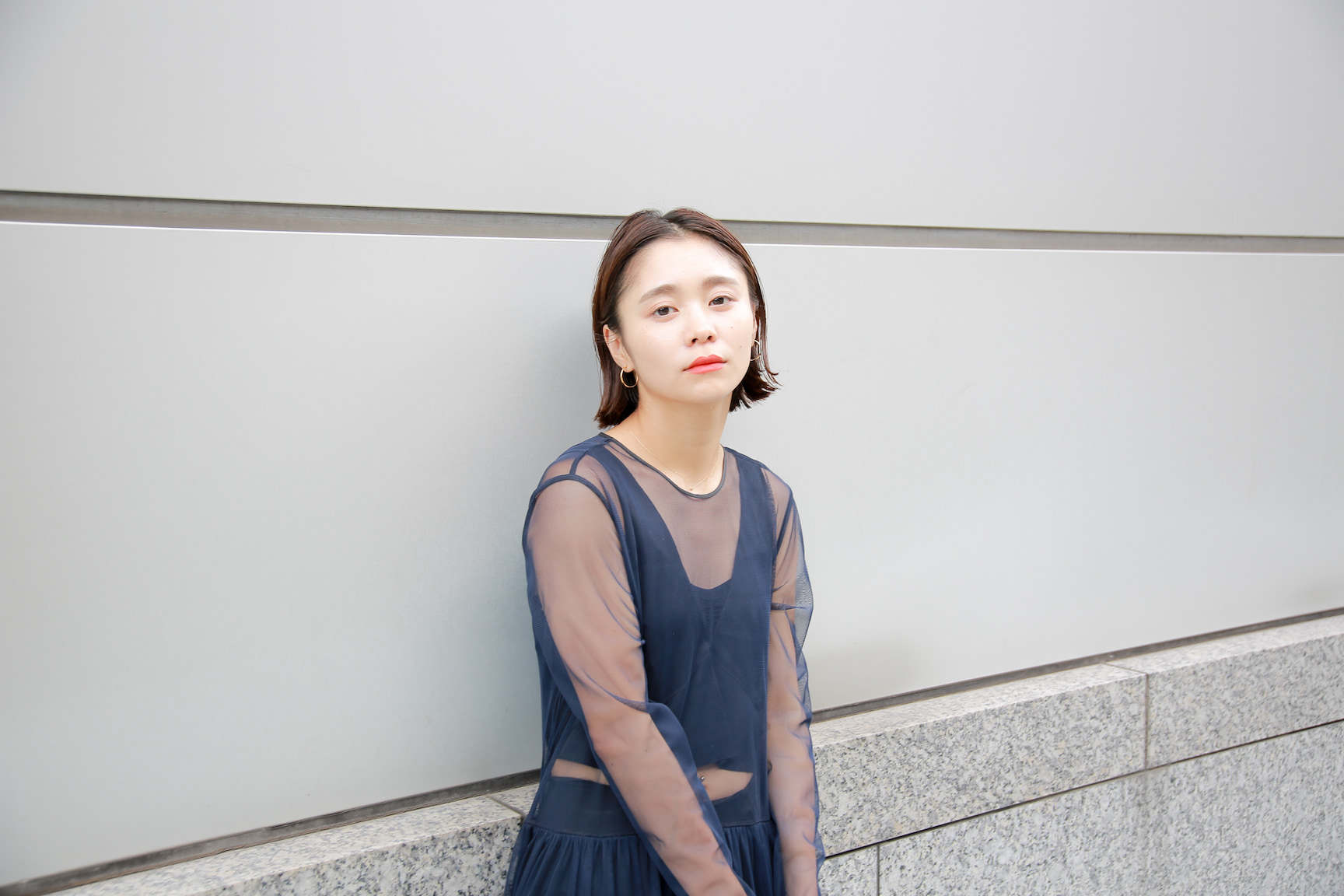 ファッション感度大!シースルーワンピースのモードスタイリング/忍舞さんの7days coordinate #Day4
