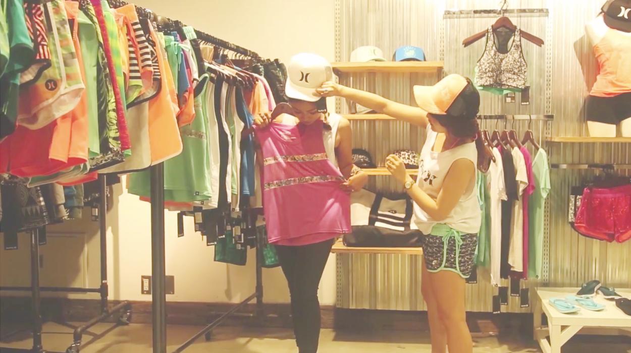 LilmeとEmiliaが着る最新の『Hurley』