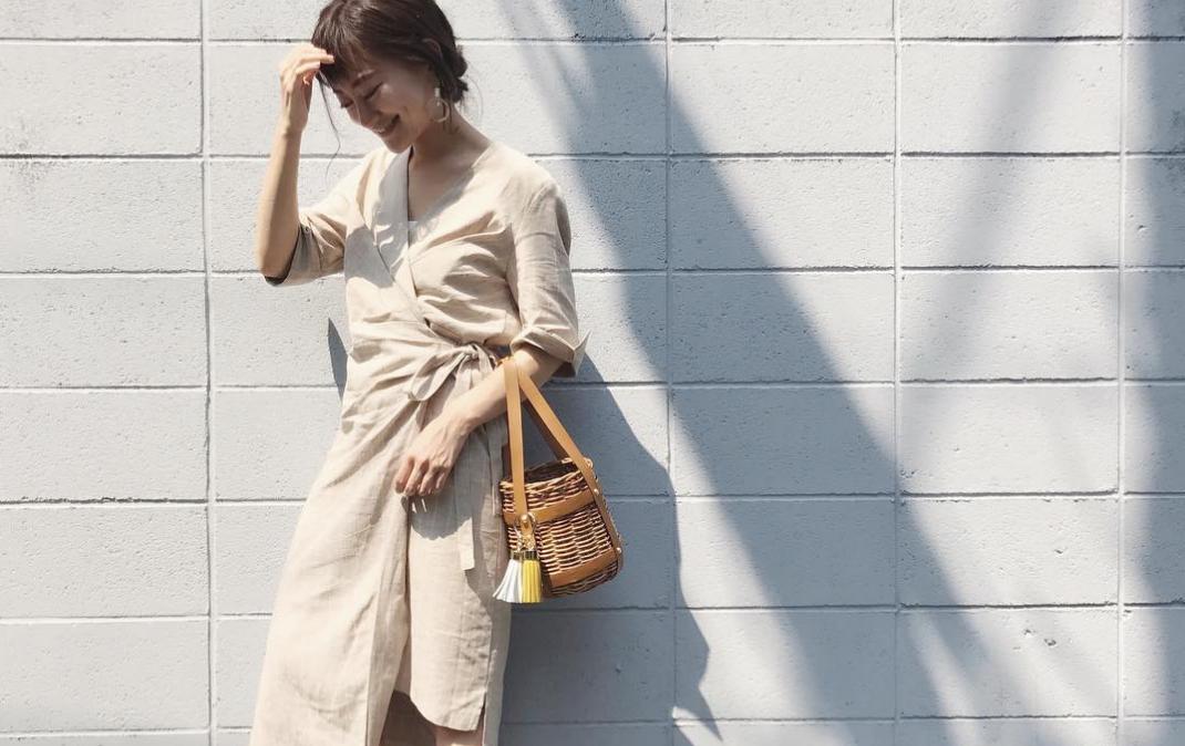新鮮デザインが続々登場!ラップスカートでドストライクな夏の女子コーデ