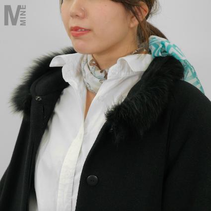【DIY】シャツスタイルに合うスカーフの結び方Vol.2