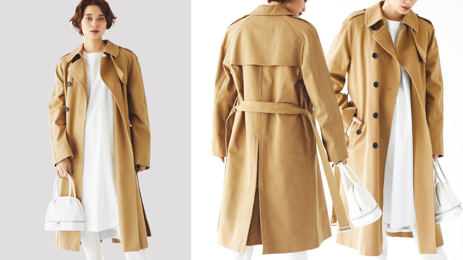 今年のトレンチはオーバーサイズを狙う!360度美しいitコートは?