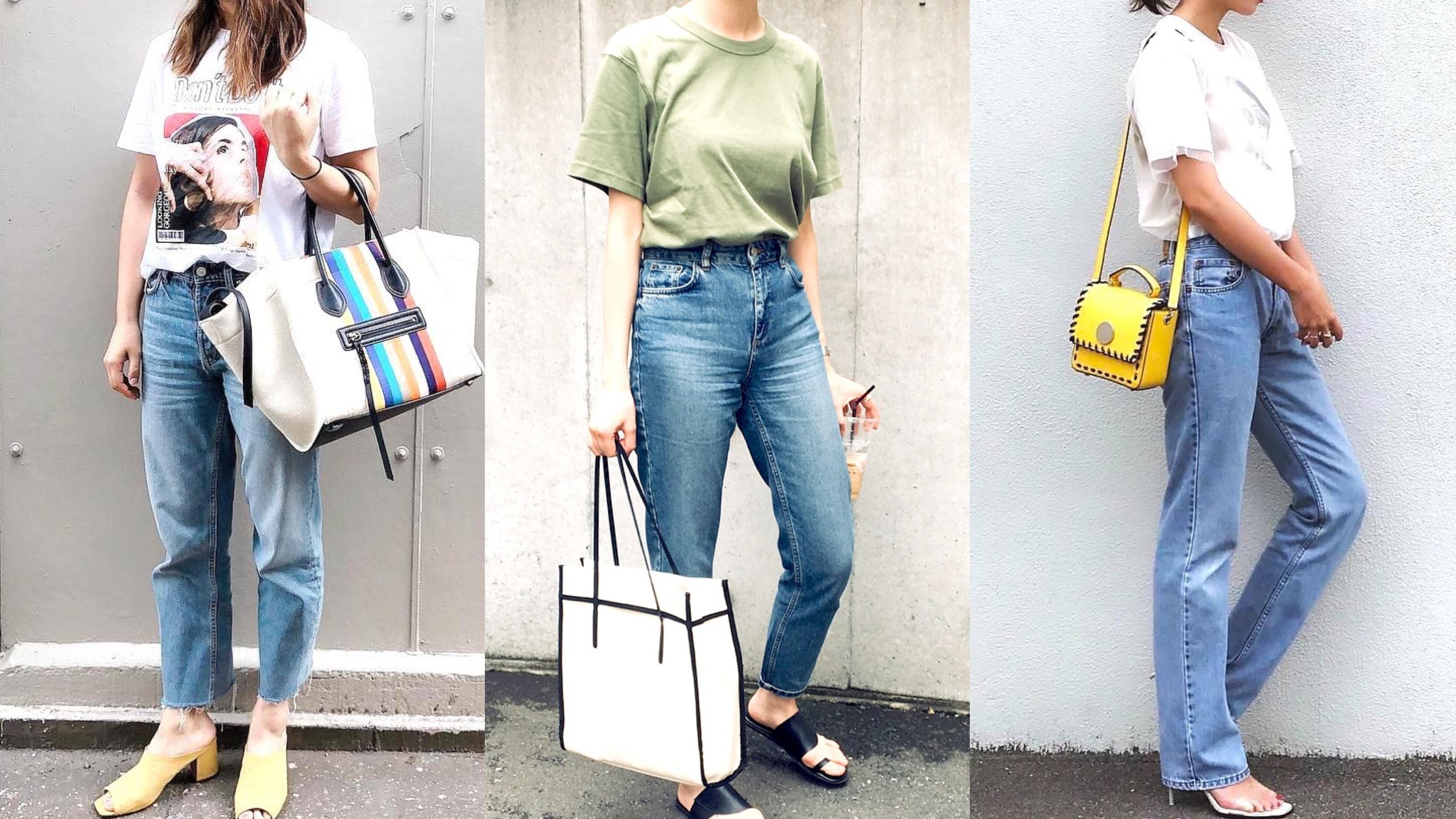 【MINESスナップ】Tシャツ+デニムで差がつく!アラサー女子の夏コーデ術