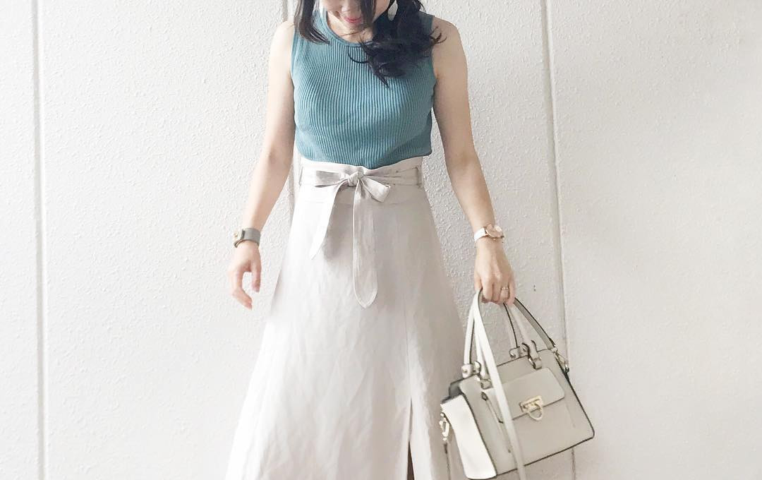爽やかコーデの必需品!今年の夏は白スカートをこう取り入れる!