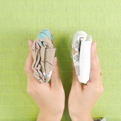 【DIY】靴下のたたみ方 ロングソックスVer.
