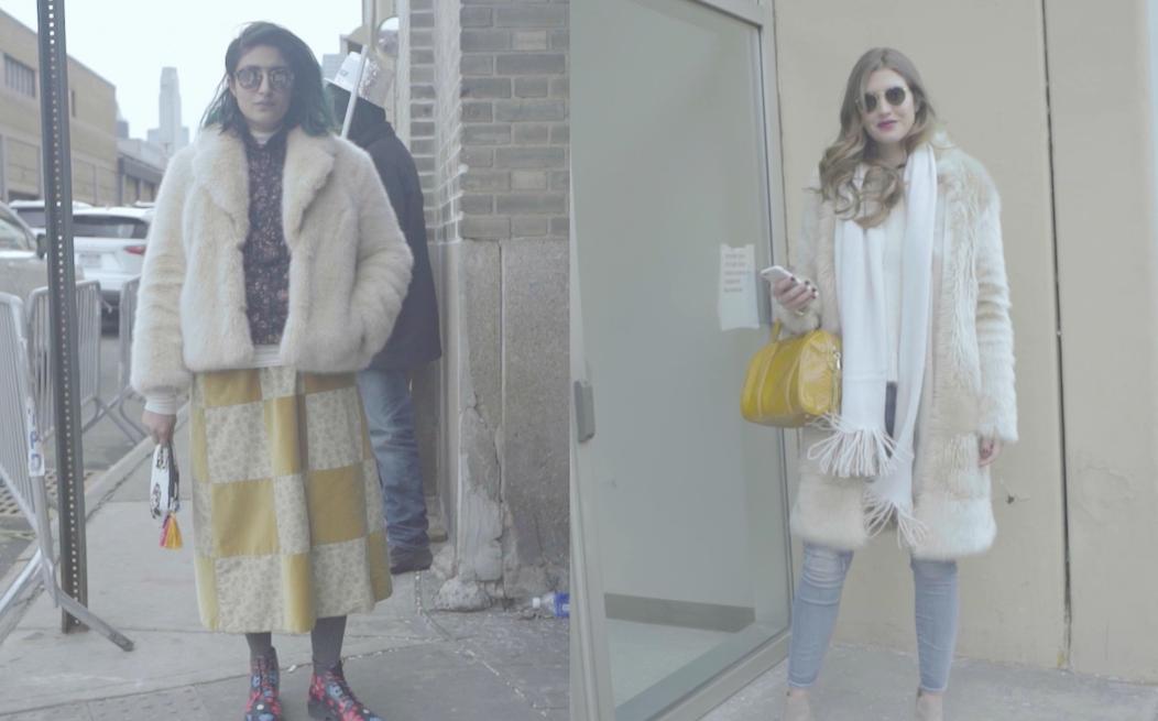 ファッショニスタのファーコートコーディネート!【NYファッションウィーク2016】