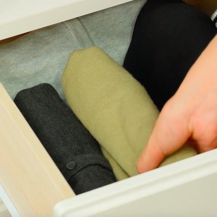 【DIY】ワンピースのコンパクトな畳み方