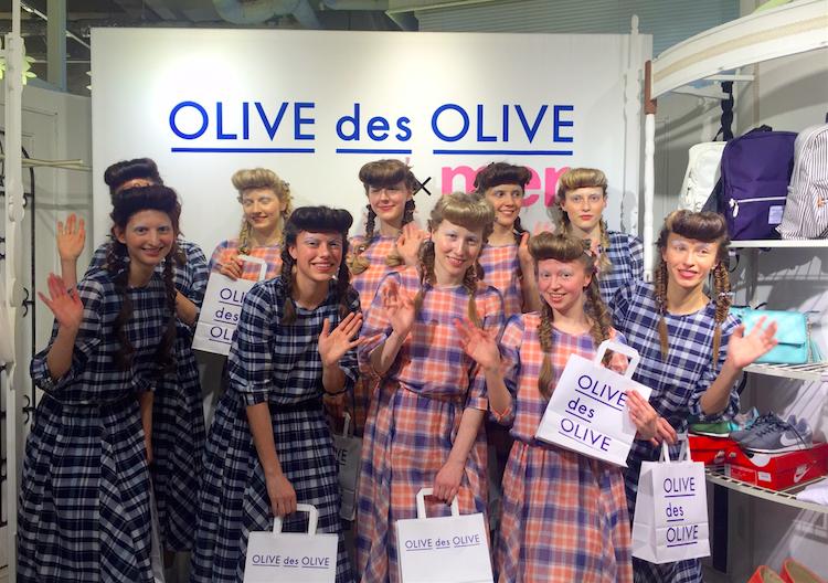 """カワイイ!OLIVE des OLIVEを着たモデルたちが、トレンド発信地 """"表参道"""" を練り歩き!"""