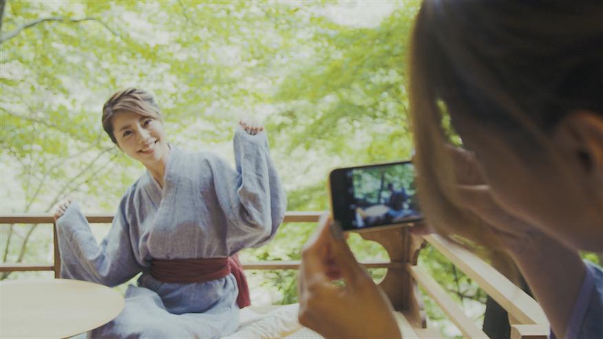 【in 箱根】住谷杏奈が友人と癒しのドライブ女子旅へ