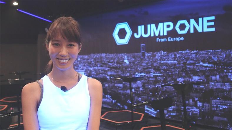 """野形仁美が体験!ヨーロッパ発の最新 """"ジャンピング・フィットネス""""『JUMP ONE』日本上陸"""