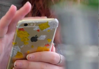 【DIY】折り紙で作れる!?金箔風iPhoneケース
