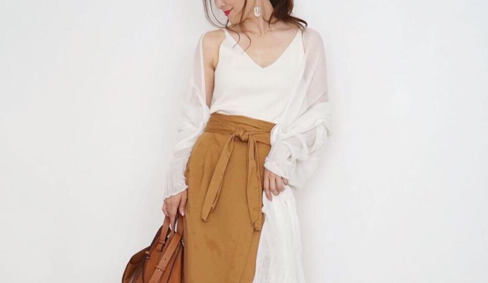 秋のレイヤードスタイルは軽さが決め手!すっきり着こなす大人女子スタイリング