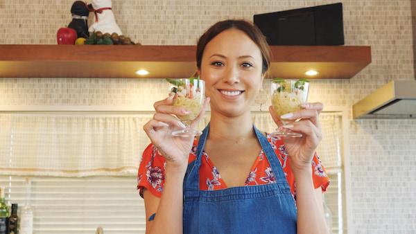 【Angelica Cooking!】夏のパーティーメニュー①『野菜たっぷり冷製カッペリーニ』