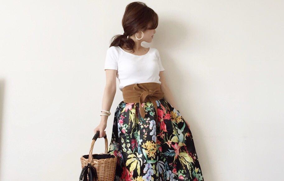 ママだって女の子!この夏、ママたちにおすすめの大人のガーリーファッション!