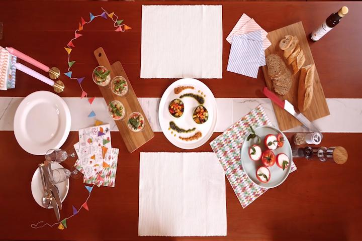 【Angelica Cooking!】夏のパーティーメニュー番外編『テーブルコーディネート』