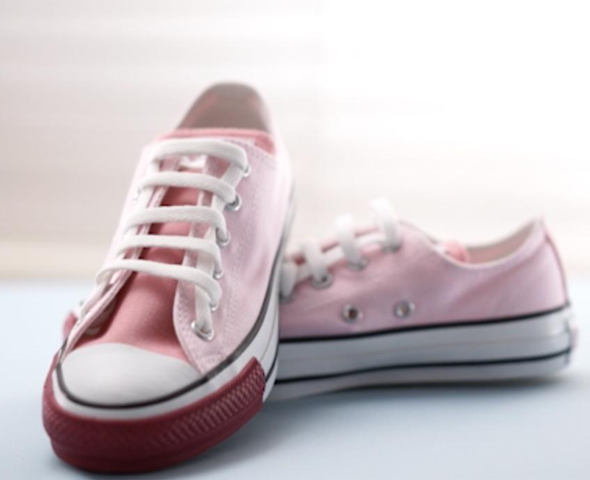 【DIY】CONVERSEの靴紐の結び方アレンジ#2