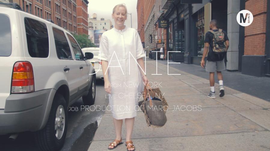 清楚な白ワンピに靴とバッグでアクセントをプラスした夏コーデ!@SoHo,NY