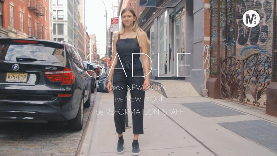 ニューヨークで人気ブランドReformationのジャンプスーツ!@SoHo, NY
