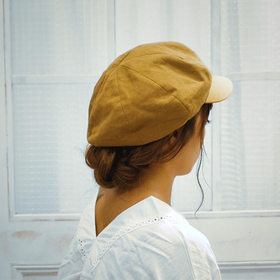 【ヘアアレンジ】5分でできるアレンジ 〜キャスケットに合うアレンジ編〜