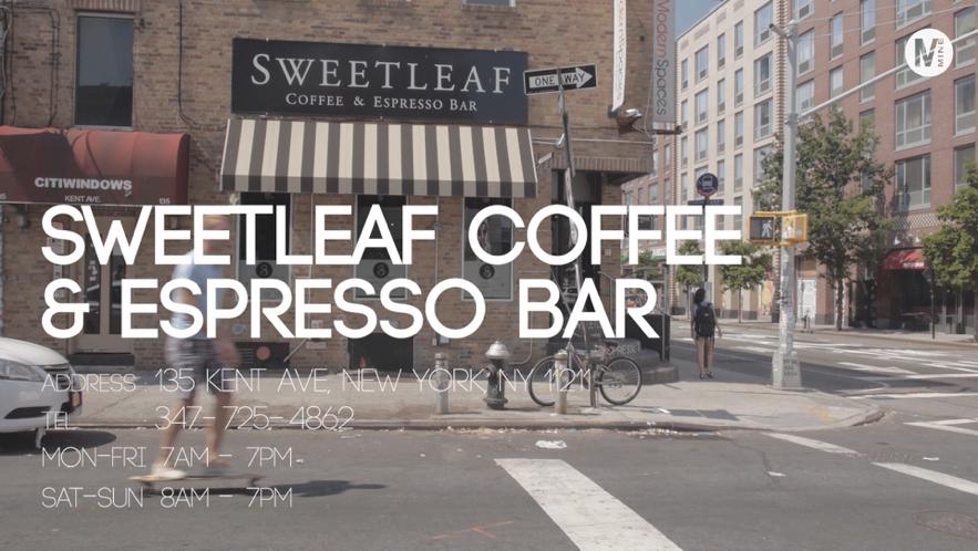 """ウィリアムズバーグの人気の地域密着型カフェ""""SWEET LEAF"""""""