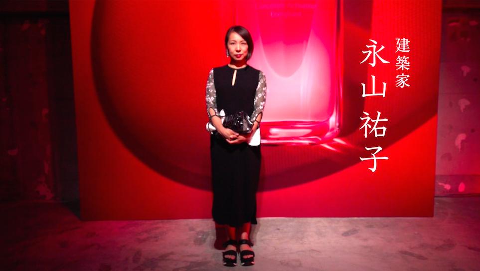 """""""強くて美しいひと"""" が集まったSHISEIDOのパーティーにて、建築家の永山祐子さんをキャッチ!"""