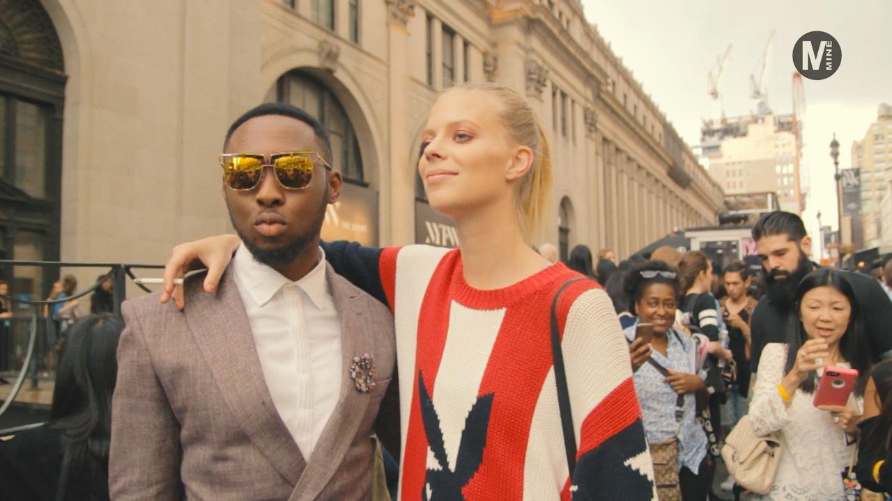 【New York Fashion Week】Marchesaのファッションショー前でパパラッチ