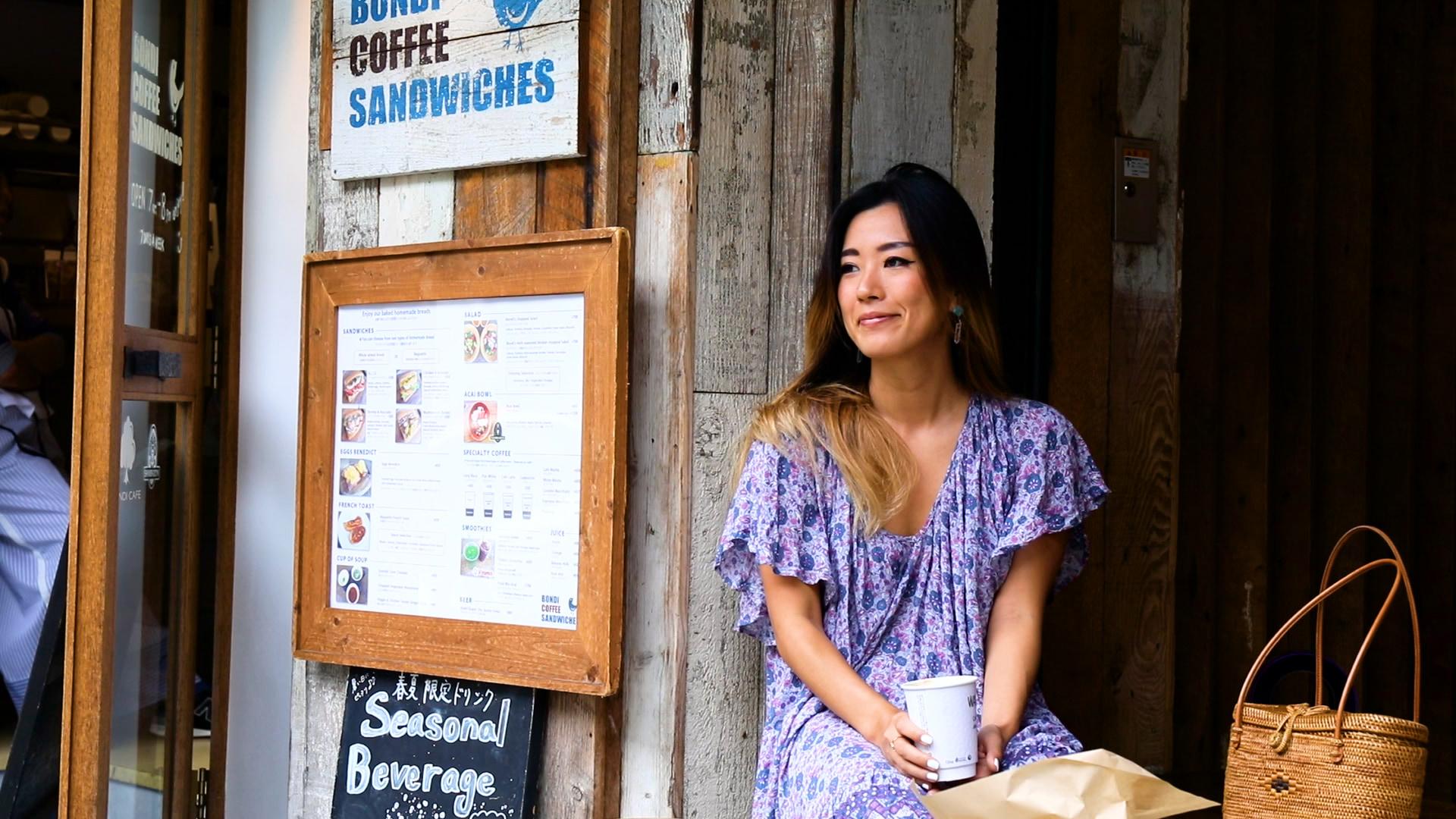 解放感抜群の朝カフェで素敵な1日を始めよう!【BONDI COFFEE SANDWICHES】