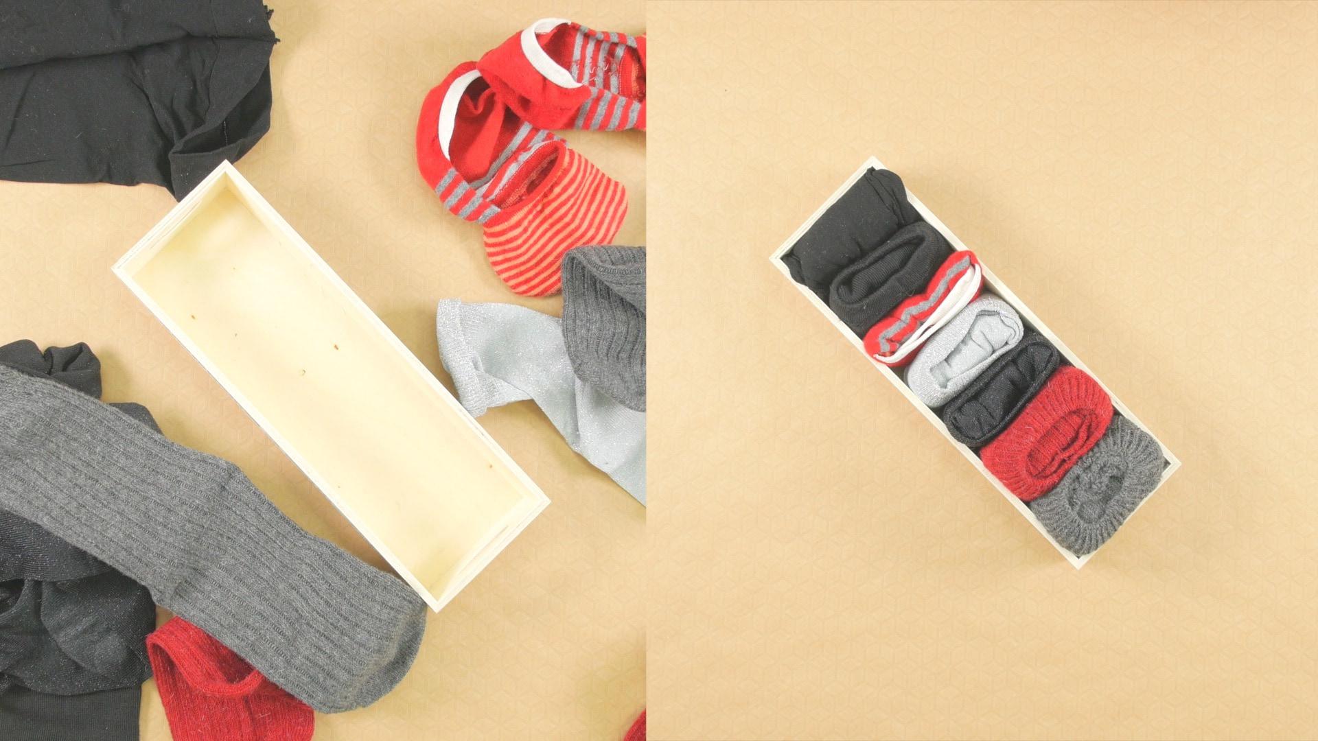 【DIY】Fashion Hacks Vol.3【靴下のたたみ方編】