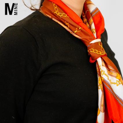 【DIY】今トレンドのスカーフを使いこなす!簡単でオシャレな巻き方Part2