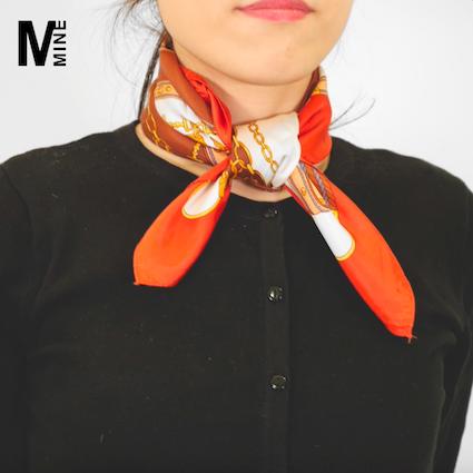 【DIY】今トレンドのスカーフを使いこなす!簡単でオシャレな巻き方Part1