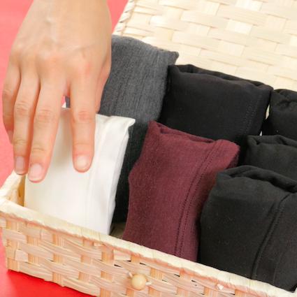 【DIY】もうかさばらない!肌着の収納方法