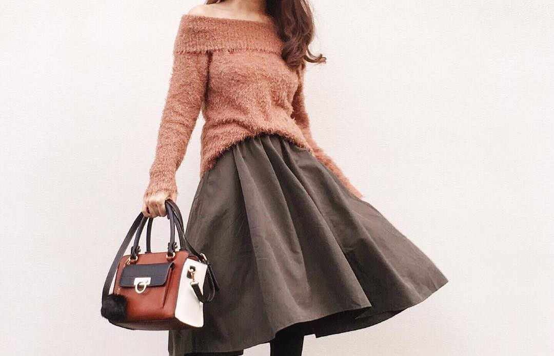 やっぱり女子はスカートが好き。寒い時でも穿きたいオシャレ女子鉄板のスカートコーデ