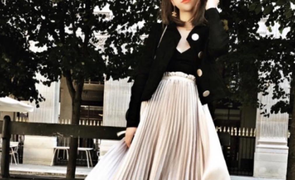 ロングスカートで女性らしさUP!体型カバーにも効果抜群のロングスカートコーデ集
