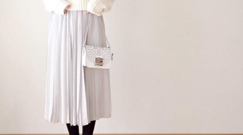白スカートは女性の味方!お手本にしたいファッショニスタのコーデ術