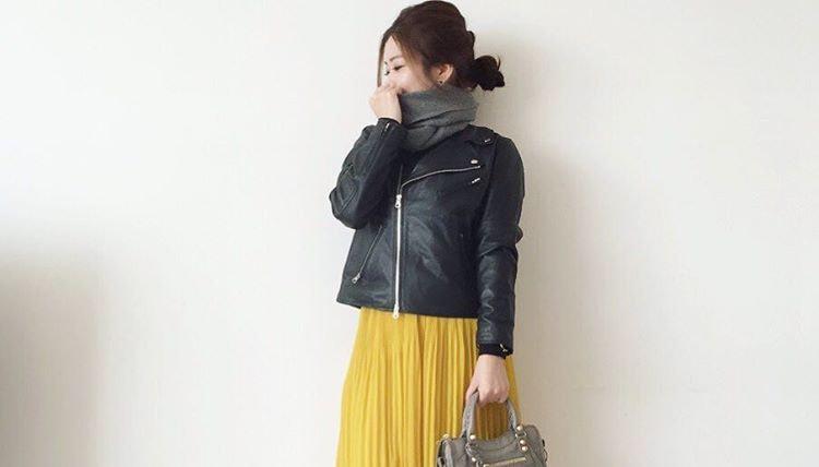 適度なボリューム感が魅力。ふわシルエットのシフォンスカートで叶える大人の着まわしコーデ