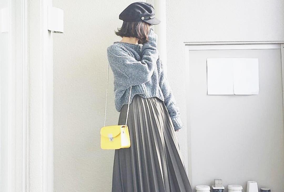 小さいさんもOK!バランスよく見せるロングスカートの着こなしマニュアル