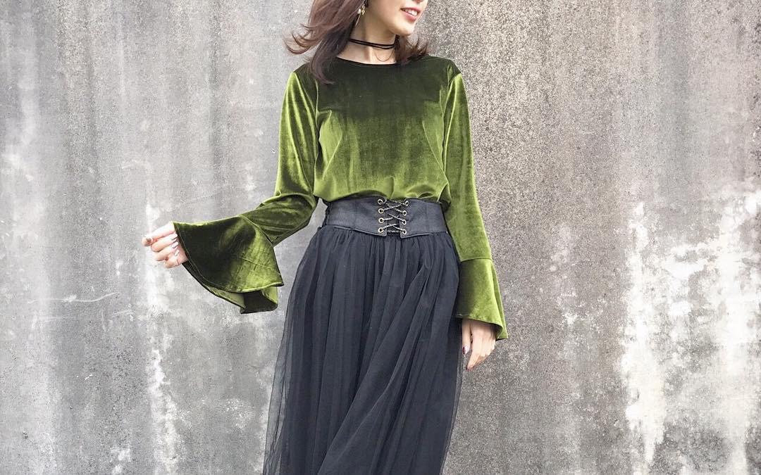 シンプル・ゆるふわ・カジュアルに、可愛く着こなして!チュールスカートのコーデ特集。