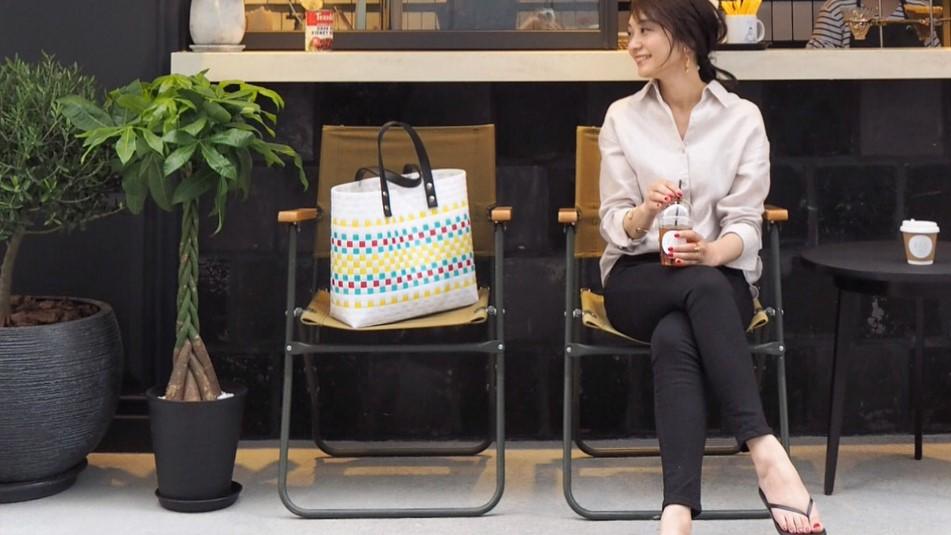 【MINESスナップ】大人のトートバッグで夏の見栄えカジュアルに更新!