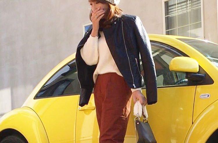 かっこよく、フェミニンに着こなそう!ライダースジャケットのコーデ特集