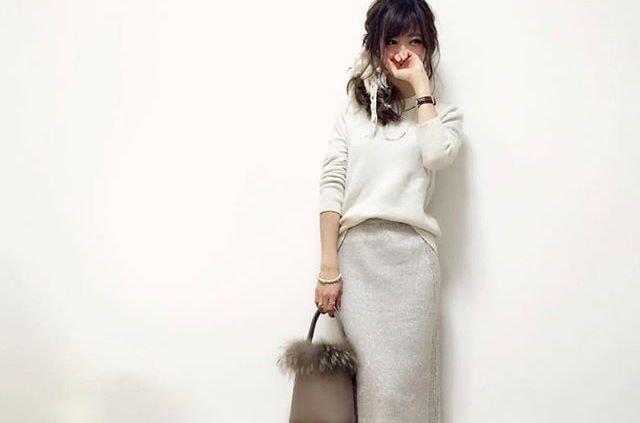 周囲と差がつく【タイプ別】ニットスカートの正しい着こなし方