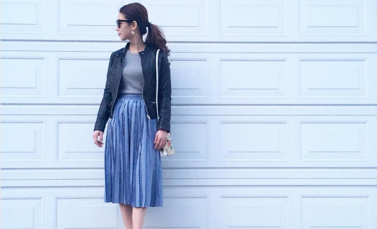 フェミニンなスカートで春の訪れを演出!エレガントなスカート着こなし術