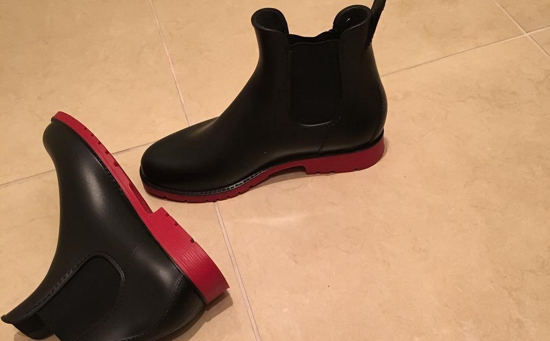 雨の日の楽しみ!くるぶし丈からロング丈の長靴を履いておしゃれに魅せよう