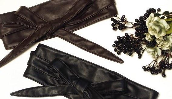 春コーデはサッシュベルトが決め手!トレンド小物で堪能する旬のファッション