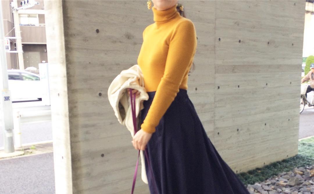 春だからこそ可愛いマキシスカートの魅力とは?マキシスカートを着こなすコツ