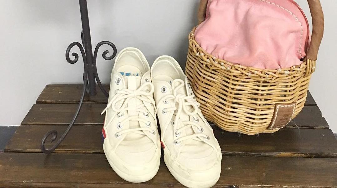 春が来たら運動靴に履き替えましょう!お出かけしたくなる軽やかスニーカーコーデ集