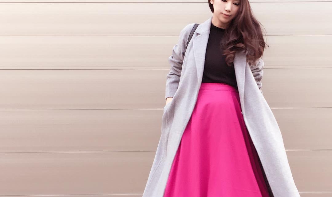 スカートルックも個性的に。巻きスカートで春のトレンドな装いをマスターする
