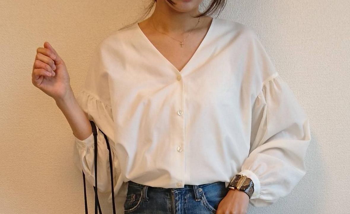 白シャツで春の清楚コーデを作ろう!白シャツに合わせておしゃれなアイテム集